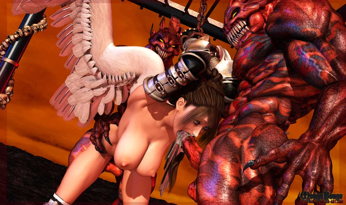Angels and demons xxx porn erotica scenes