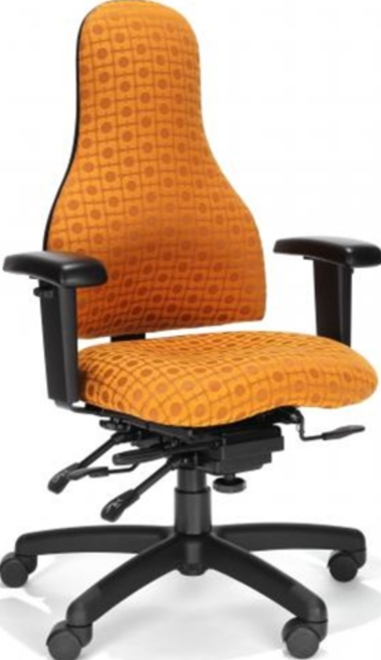 Carmel High Back Ergo Chair by RFM