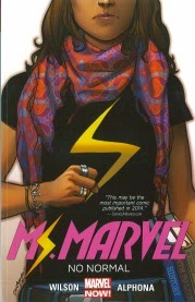 Cover of Ms Marvel Volume One: No Normal