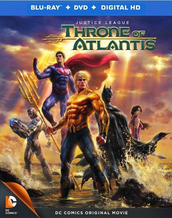 Liga da Justiça: Trono de Atlântida Torrent   Legendado (2015)