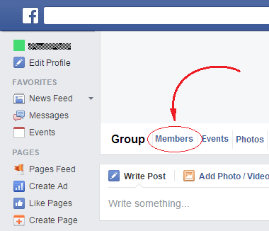 How to delete a group on facebook rom cartridge this will show you a list of all the people who are members of your group in that list one by one for all the members except you click on the gear ccuart Choice Image