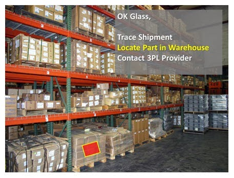 supply chain management the adjacent possible and google glass in