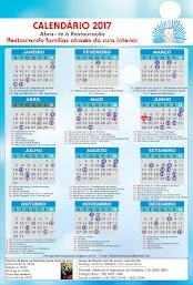 Calendário 2017 - abra - te à Restauração