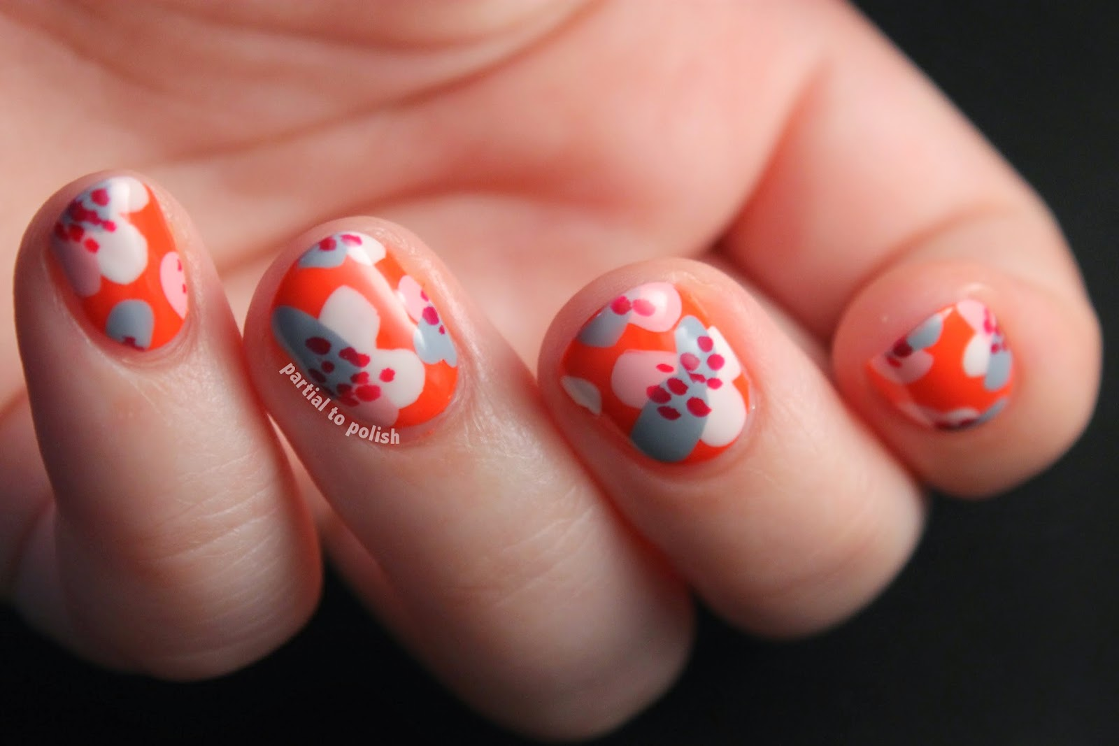 Mrcandiipants Springy Floral Nail Art