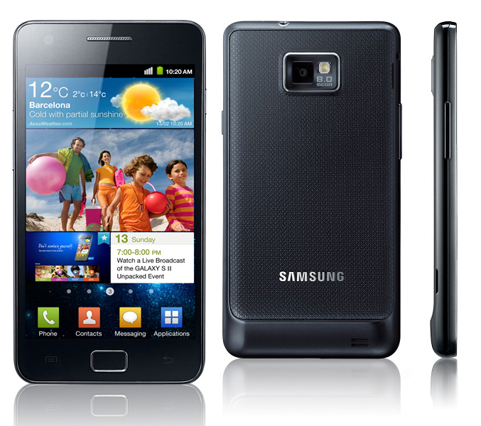 Samsung galaxy s ii is an android smartphone by samsung released on