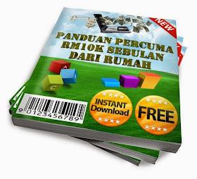 e-book rahsia side income rm10k dari  rumah