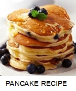 ALMOND PANCAKES WITH BERRIES