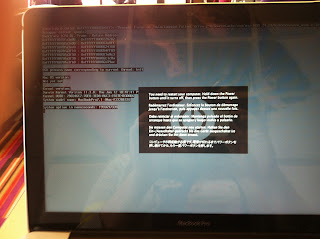 Macbook Pro with a fatal error on boot up
