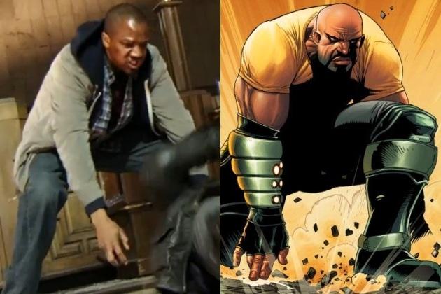 J. August Richards es Rage o Luke Cage en Agents of S.H.I.EL.D.