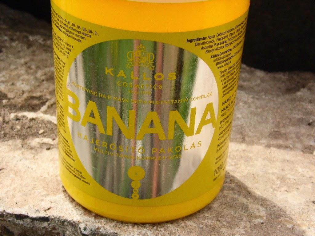 Kallos Banana | wzmacniająca maska z kompleksem witamin | pachnąca owocowa i przeciętna