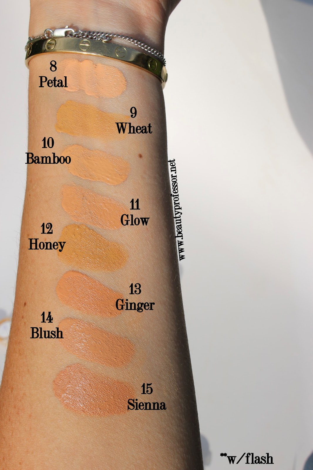 Beauty Professor Eve Lom Radiance Lift Foundation Swatches And Review