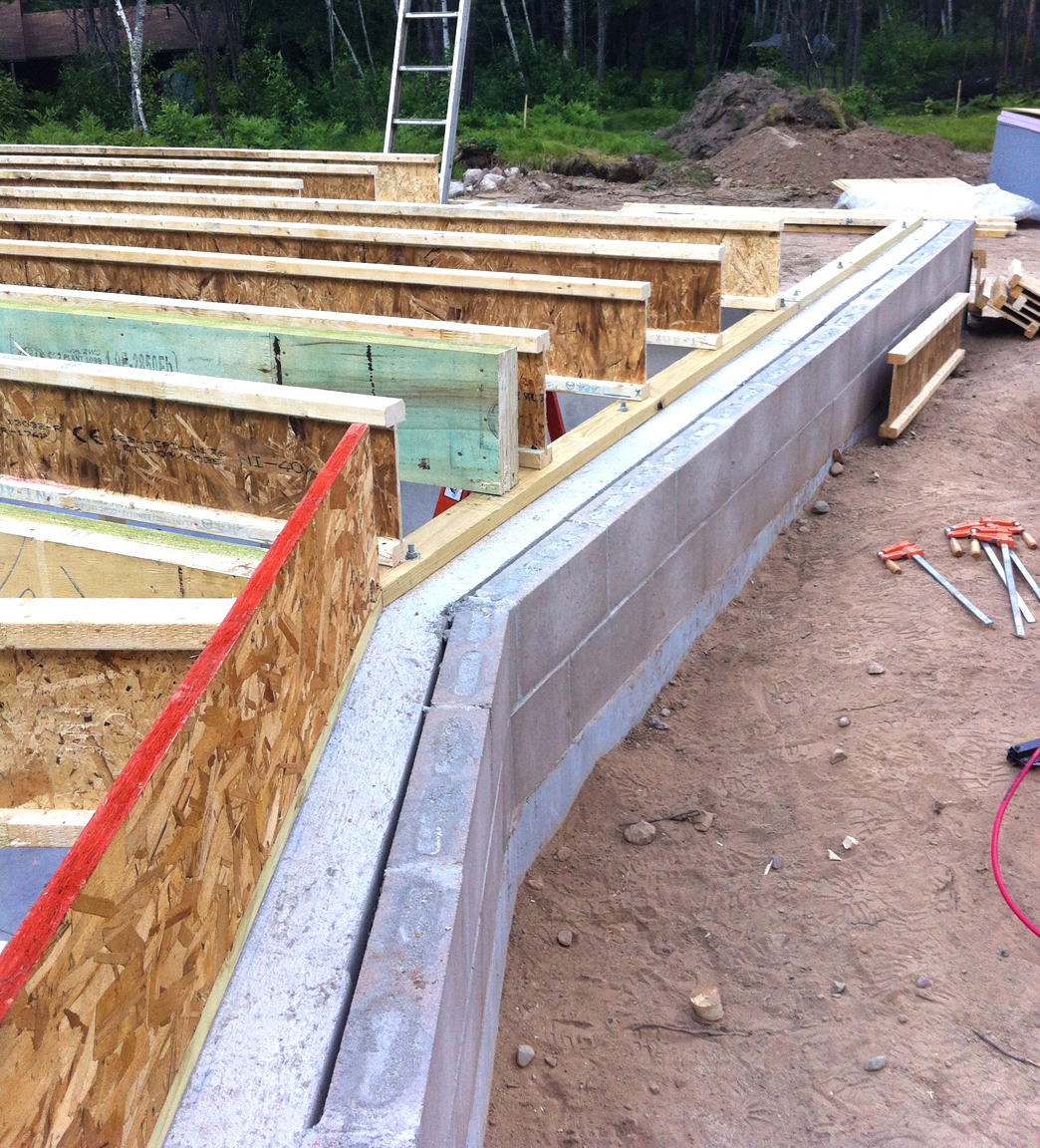The bldgtyp blog june 2012 for Concrete foundation walls