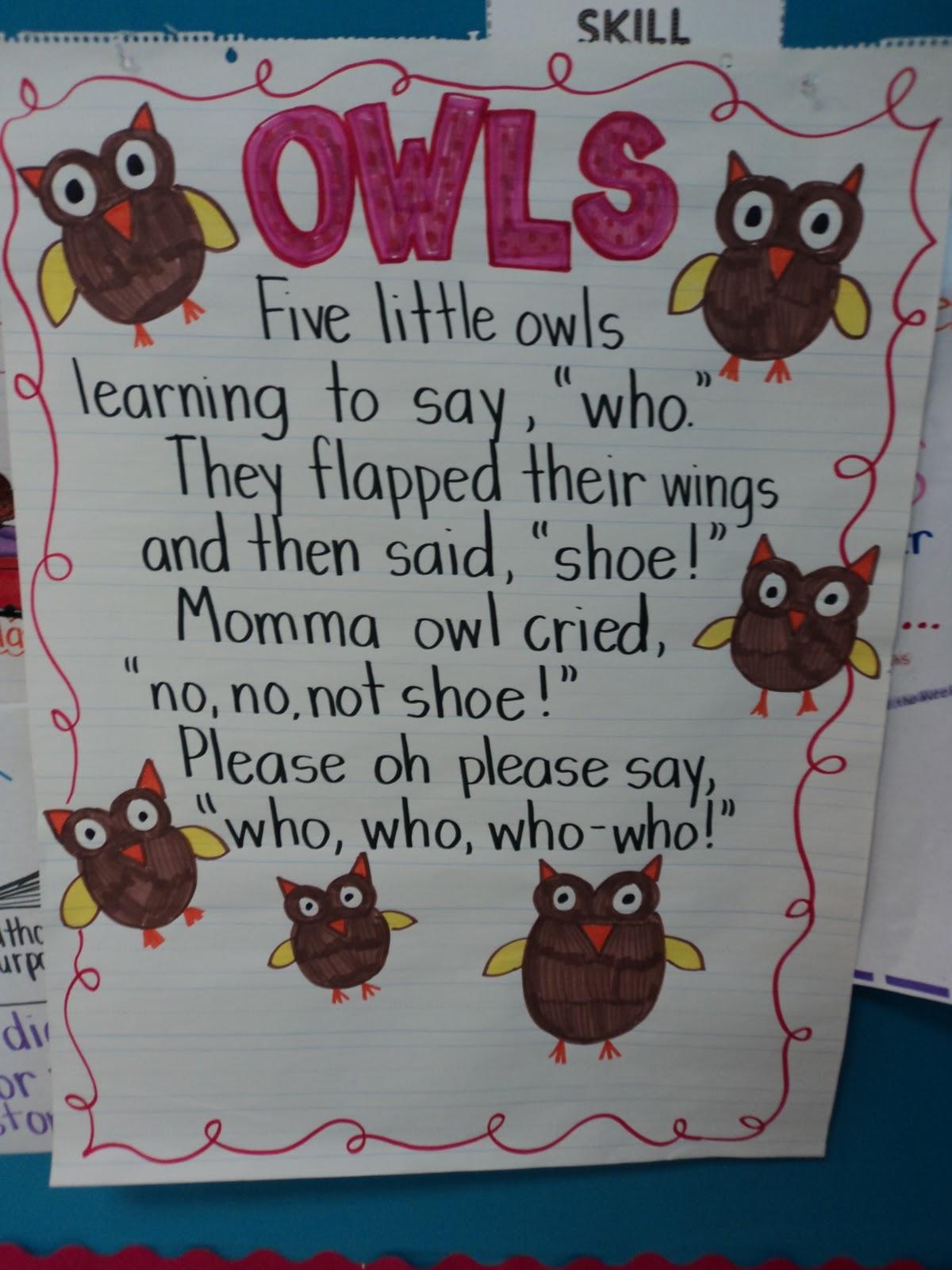Cute Owl Poem