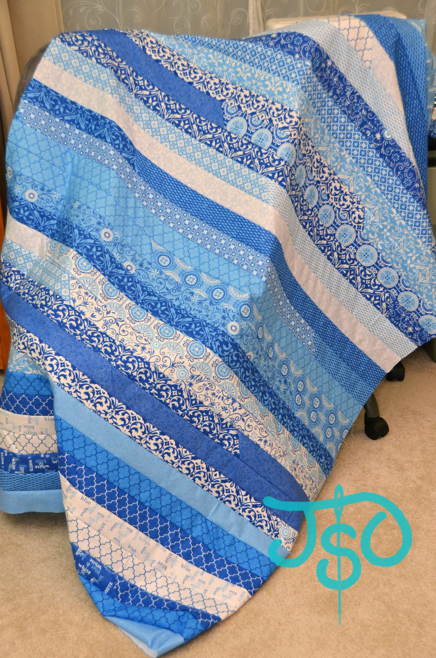 JustSewOlivia: Tutorial: Basic Jelly Roll Quilt - QuiltWest : jelly roll race quilt pattern - Adamdwight.com