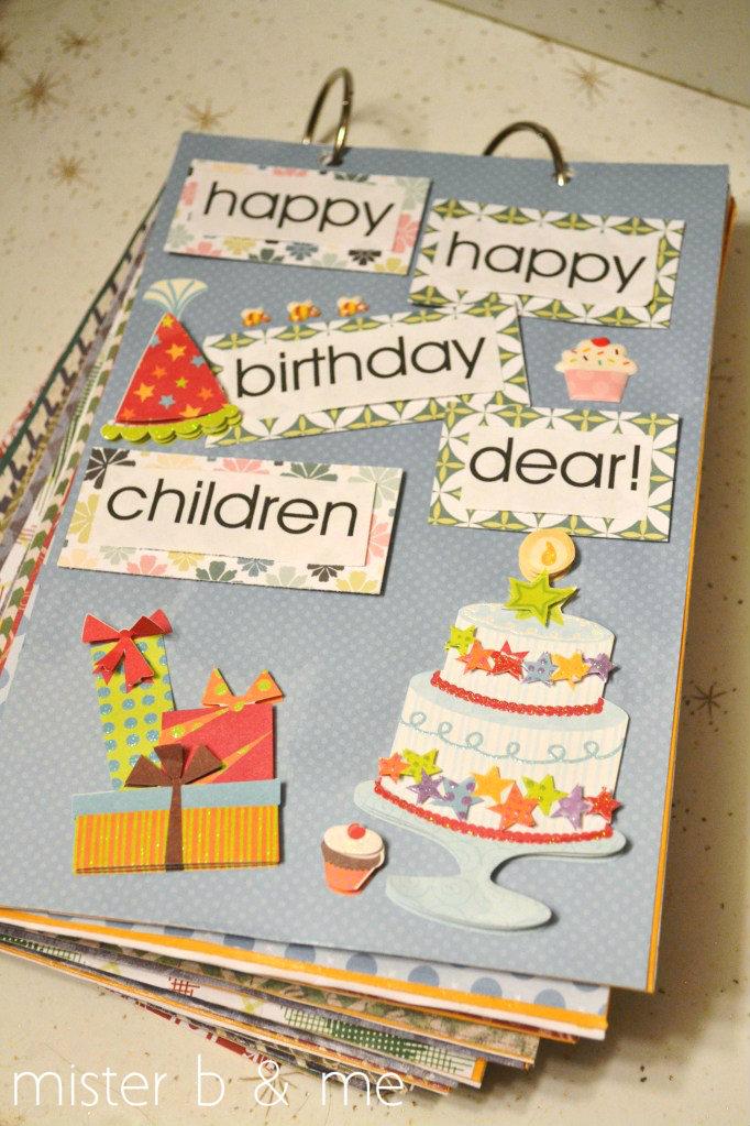 Diy Birthday Calendar : Mister b and me diy birthday calendar