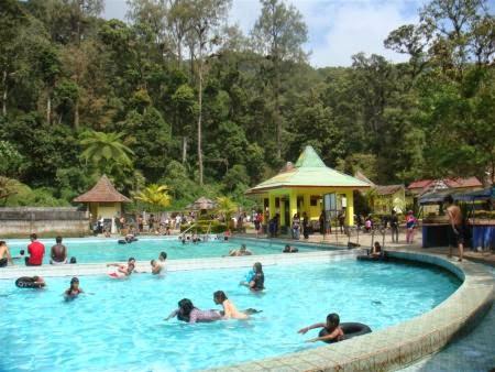 Pemandian air Panas Cangar | Objek / Tempat Wisata di Jawa Timur