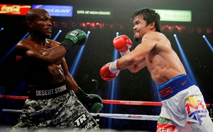 Pacquiao Emerged Victorious Over Timothy Bradley on a Rematch