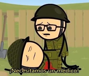 Cyanide & Happiness - Dile a mi mujer