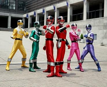 Daftar Judul Episode Power Rangers - Time Force