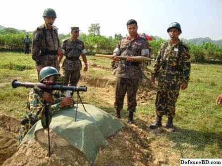 BGB Bangladesh with RPG