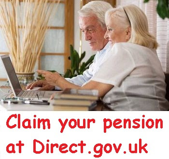 How to claim Direct.gov.uk Pension online?
