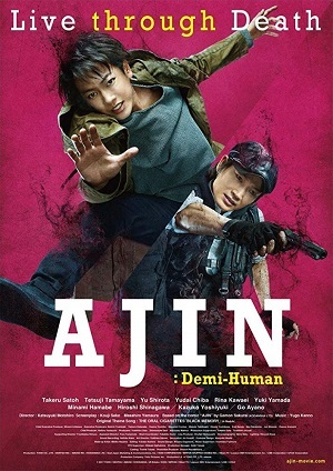 Ajin - Demi-Human Live Action Legendado BluRay Filmes Torrent Download capa