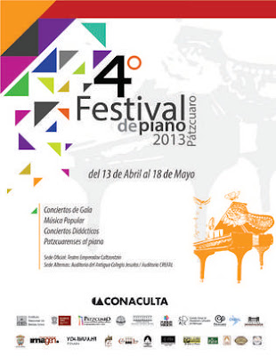 Fourth Piano Festival in Patzcuaro