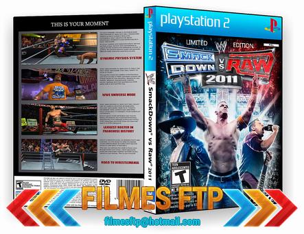 WWE SmackDown vs. Raw 2011 PS2
