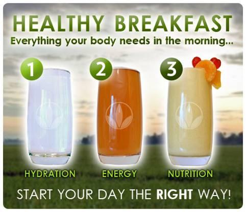 Mulakan Hari Anda Dengan Sarapan Yang Sihat