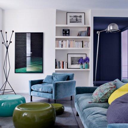 50 m2 en paris ministry of deco for Decoracion de ambientes pequenos