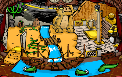 Club Penguin Quest for the Golden Puffle February 2013!