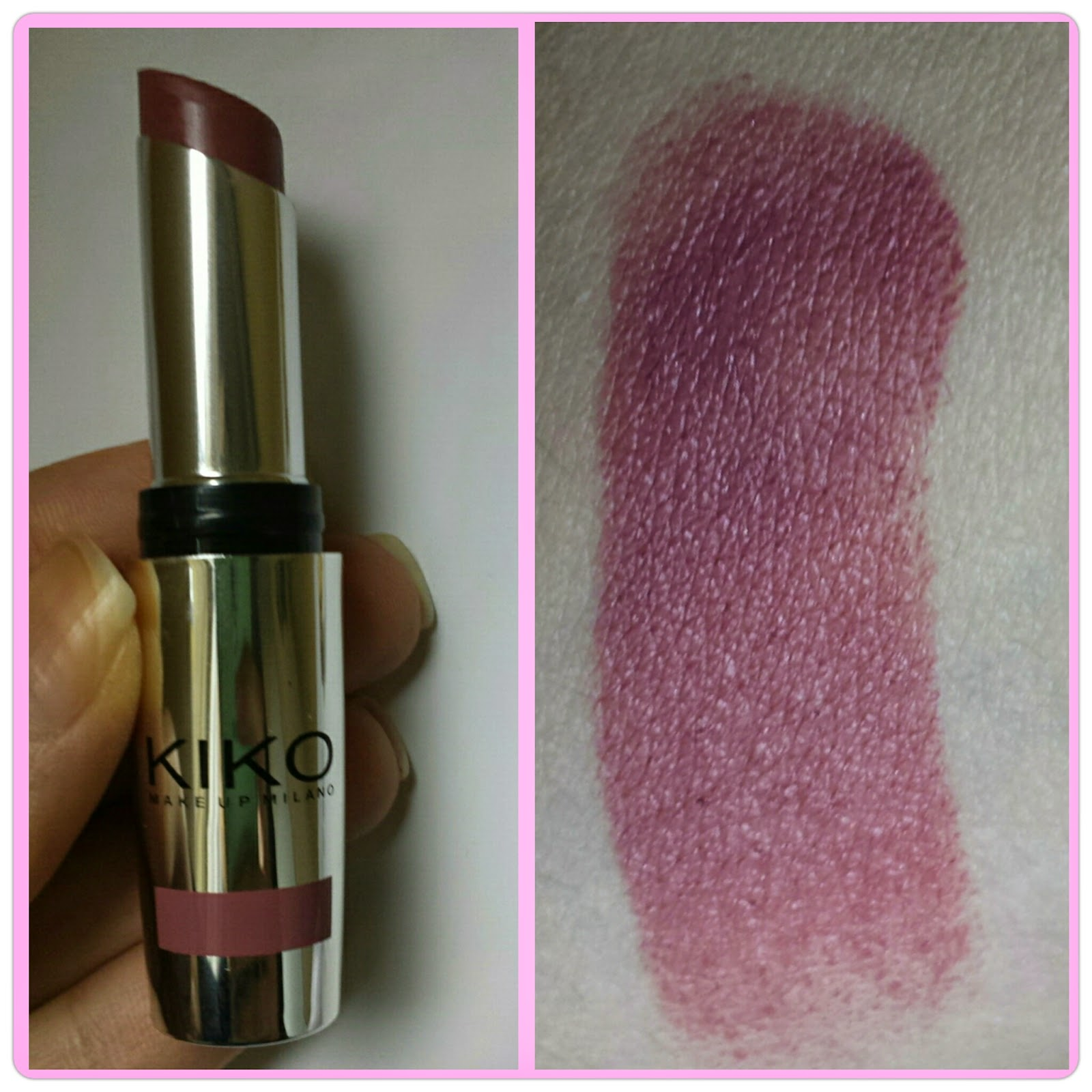 Top Sailorsmakeup's World: KIKO COSMETICS - Lipstick Swatches e Review SA99