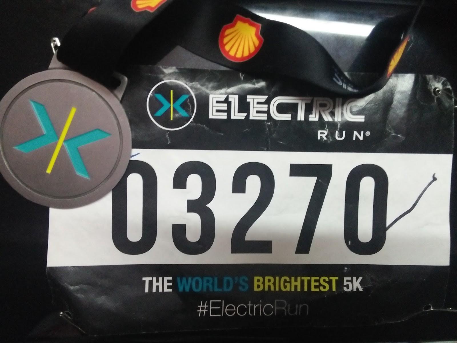 Electric Run Malaysia Senok Warni In A Nutshell My Memang Best Enjoy The