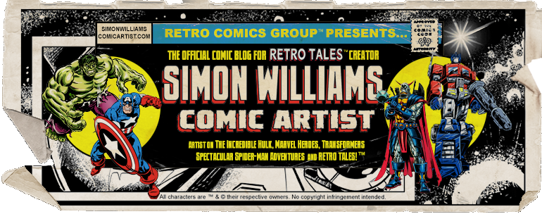 Simon Williams Comic Artist