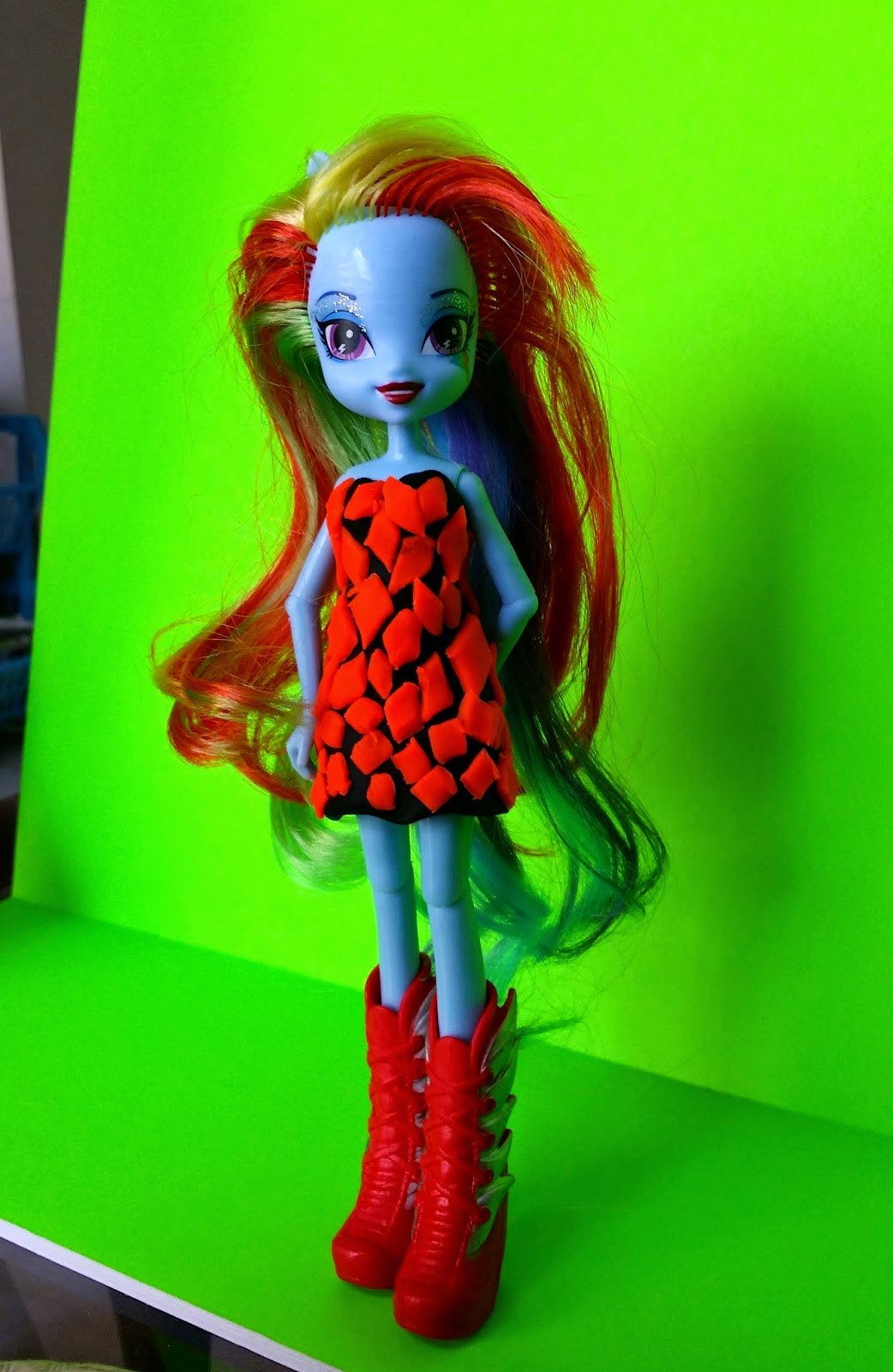 Play-Doh doll fashion