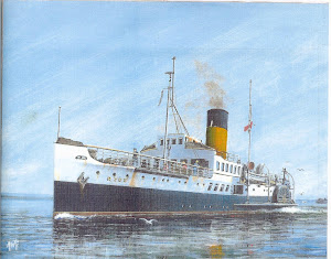 The IOW Paddle Steamer Ryde