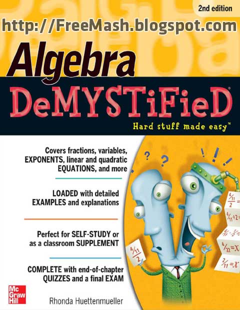 Algebra DeMYSTiFieD 2nd Edition PDF Ebook Free Download