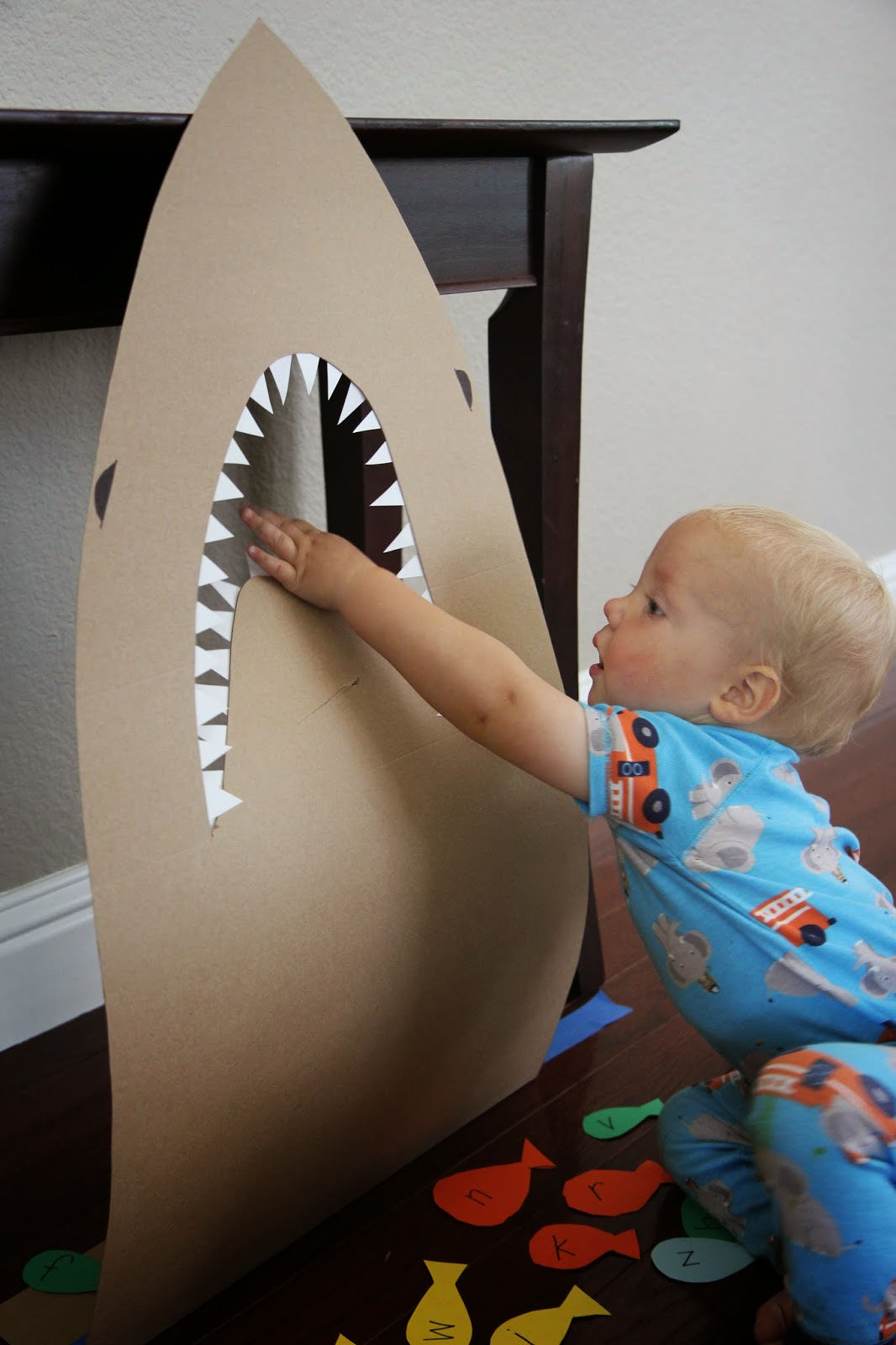 Toddler Approved Feed The Shark Alphabet Game For Kids