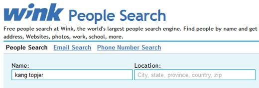 Cara Mencari Data Diri Orang Lewat Internet
