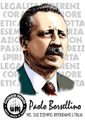 PAOLO BORSELLINO!