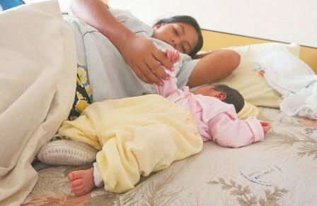 Maternidad en Bolivia