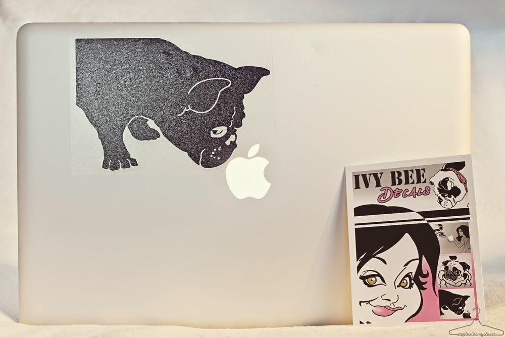 Step Inside My Closet - Ivy Bee Decals, Apple MacBook, French Bull Dogs, Daily Dose of Bean