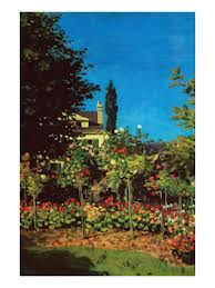 Monet-Garden-Bloom-Sainte-Adresse