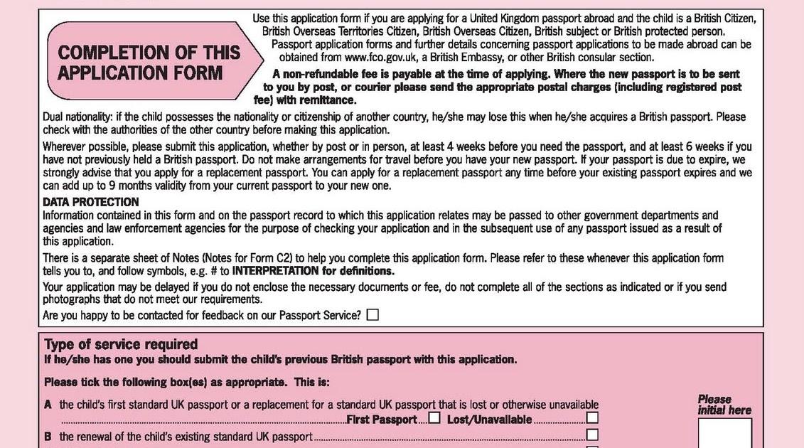 Life With Leukaemia Form C2 Kezias Passport Contd