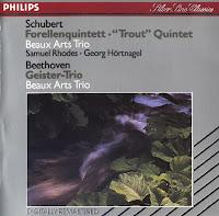 Franz Schubert - Trio Di Trieste - Piano Trio In B Flat Major Op. 99 / Variations In E Flat Major Op. 44