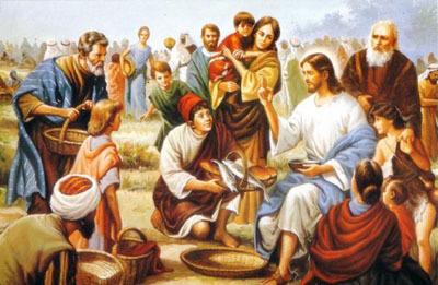 Deus dá um pão que sustenta para sempre