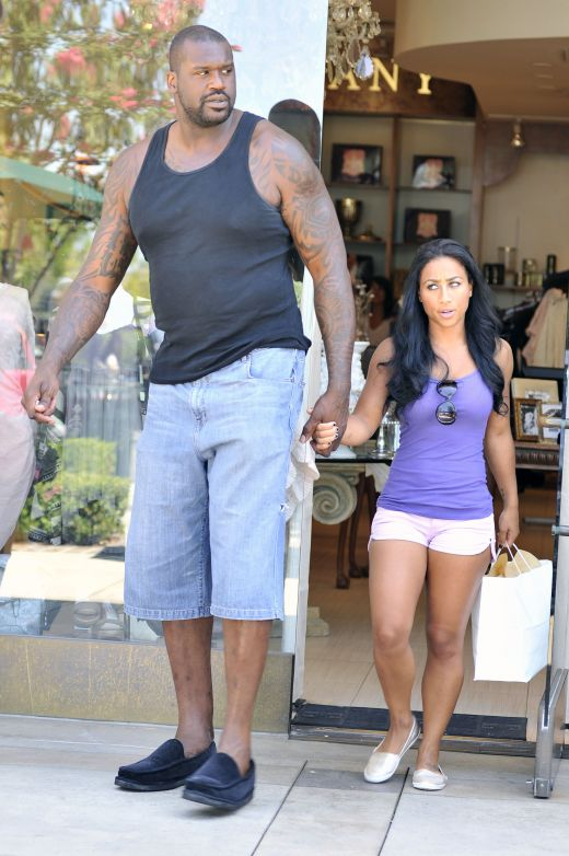 Protest Shaq and his girlfriend curious topic