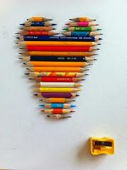 Hjärta av pennor