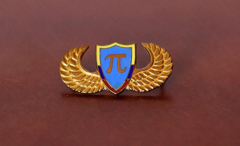 Broches o 'pin' de aviación - Oficial de Especialidad Ingeniería - Fuerza Aérea Colombiana
