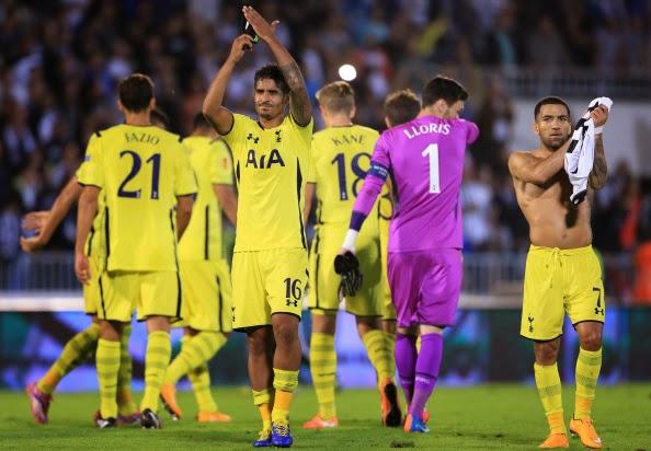 Europa league: gian nan chờ Tottenham